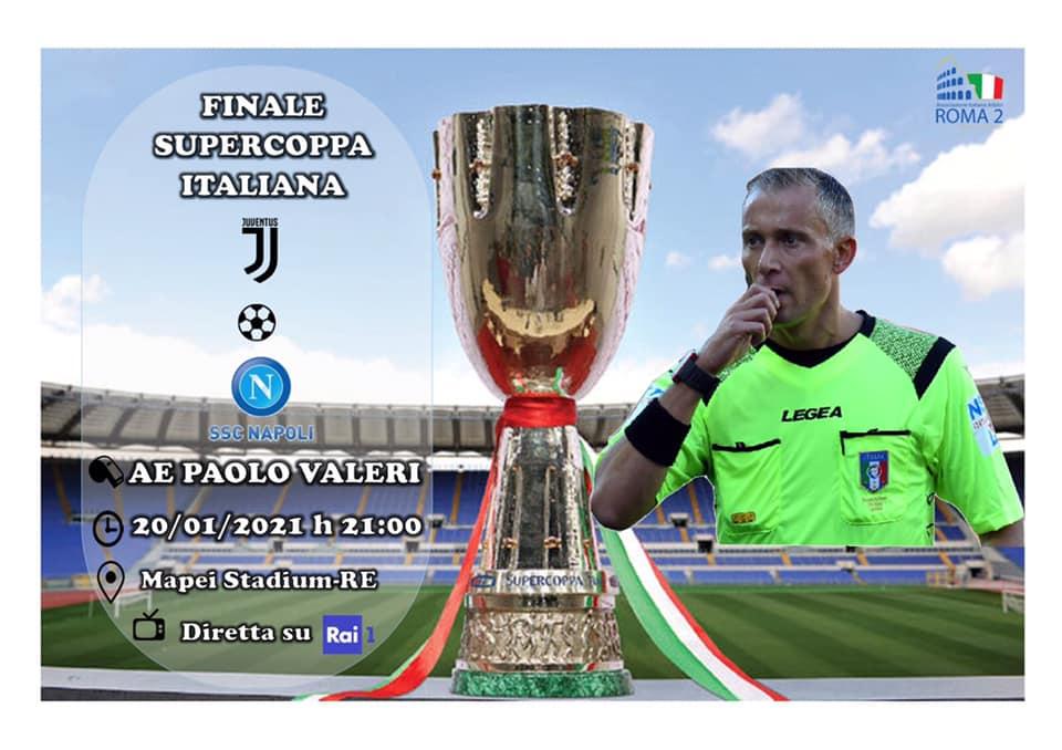 Paolo Valeri arbitro della PS5SupercupPS5Supercup