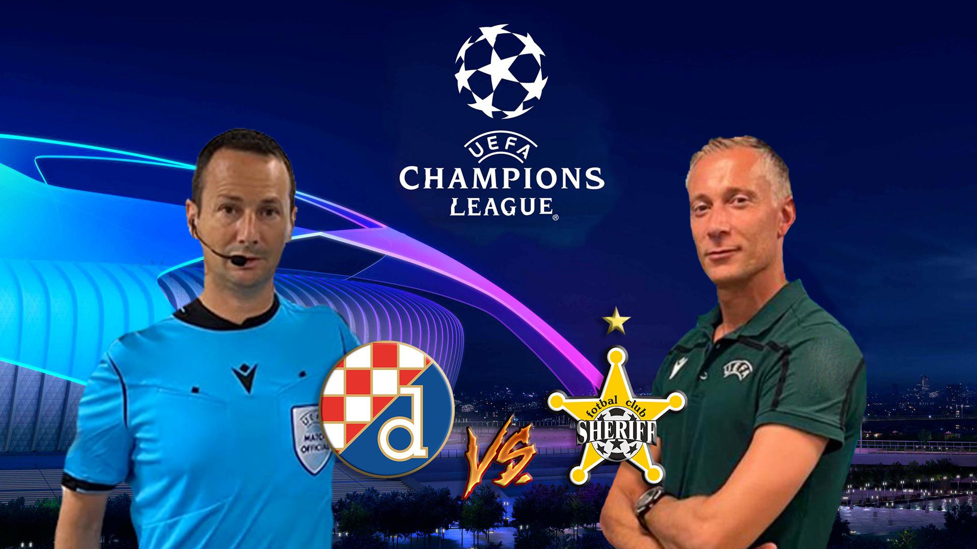Dinamo Zagabria Sheriff Tiraspo Valeri e Giallatini