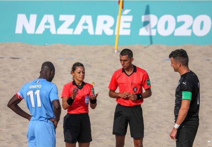 Fiammetta sussanna sorteggio beach soccer
